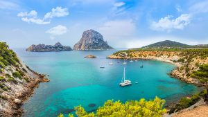 Coast Rock Sea Bay Ibiza Ibiza - marucha / Pixabay