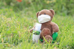 Bear Mask Corona Closure Brown - a0504130218 / Pixabay
