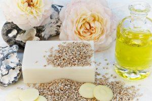Soap Rose Oil Sesame Cocoa Butter - silviarita / Pixabay
