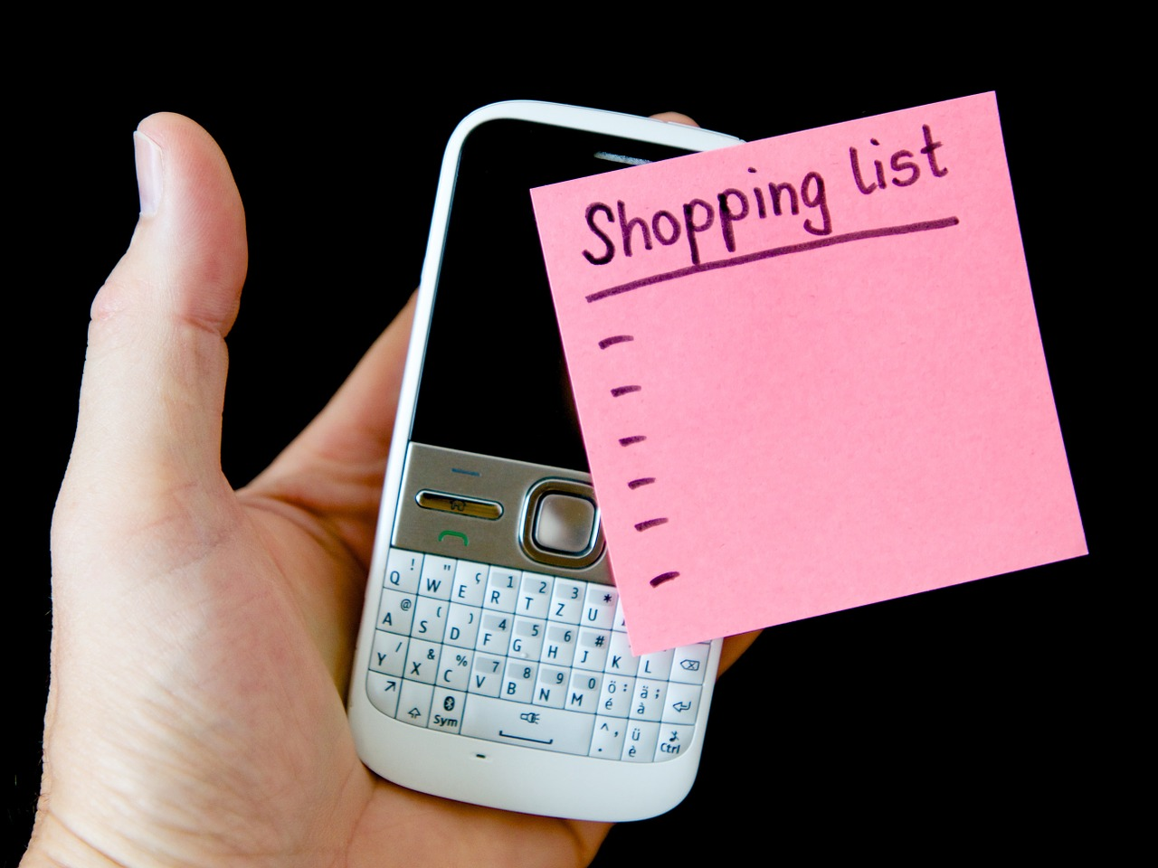 Hand Mobile Note List Embassy  - 422737 / Pixabay