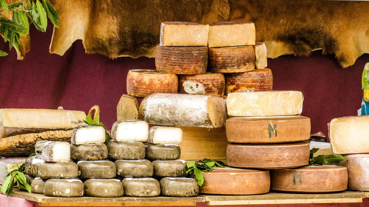 Cheese Sheep Cheese Goat Cheese  - VMonte13 / Pixabay