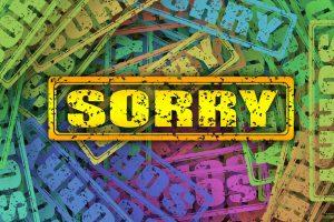 Excuse Me I M Sorry Stamp Font  - geralt / Pixabay