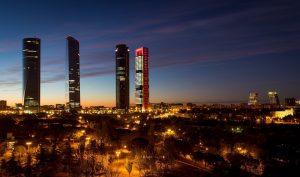 Madrid Spain Torres Skyline - jessiegarciasmith / Pixabay